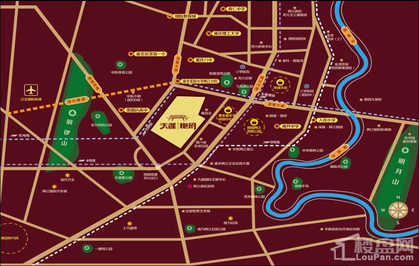 桥达天蓬樾府位置图