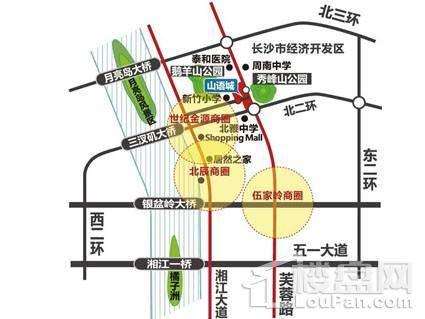 中国铁建山语城位置图