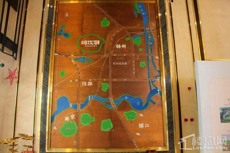 扬州玥珑湖位置图