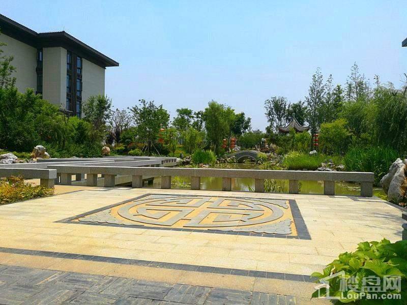 扬州玥珑湖实景图