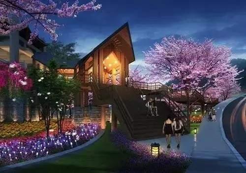 为您推荐抚仙湖畔樱花谷