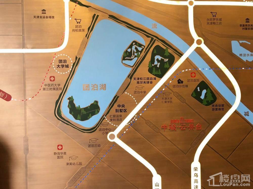 中骏云景台位置图