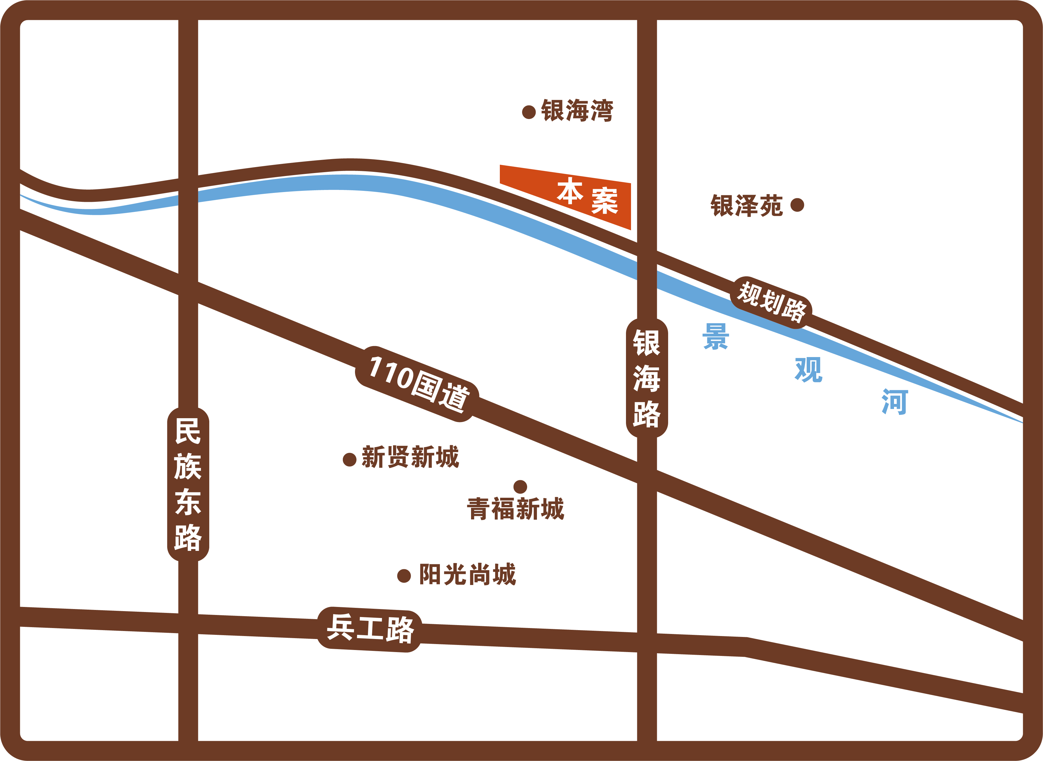 方兴•山屿湖位置图