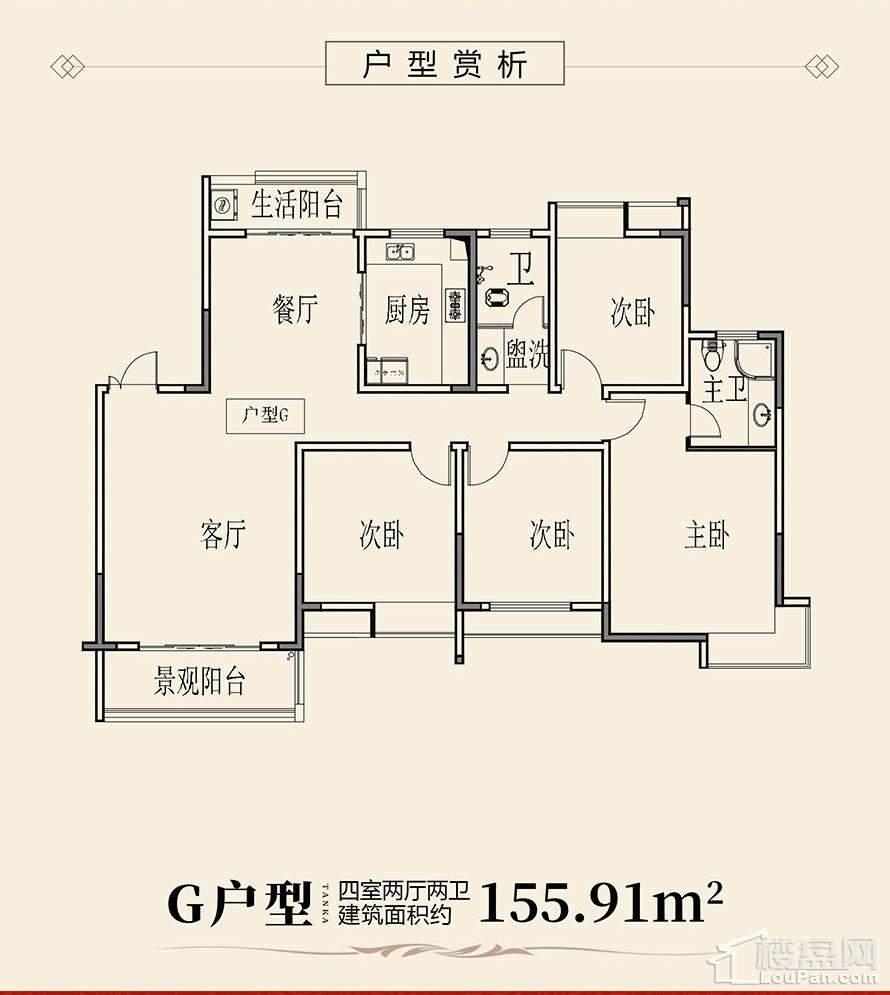 天凯荣昌府G户型