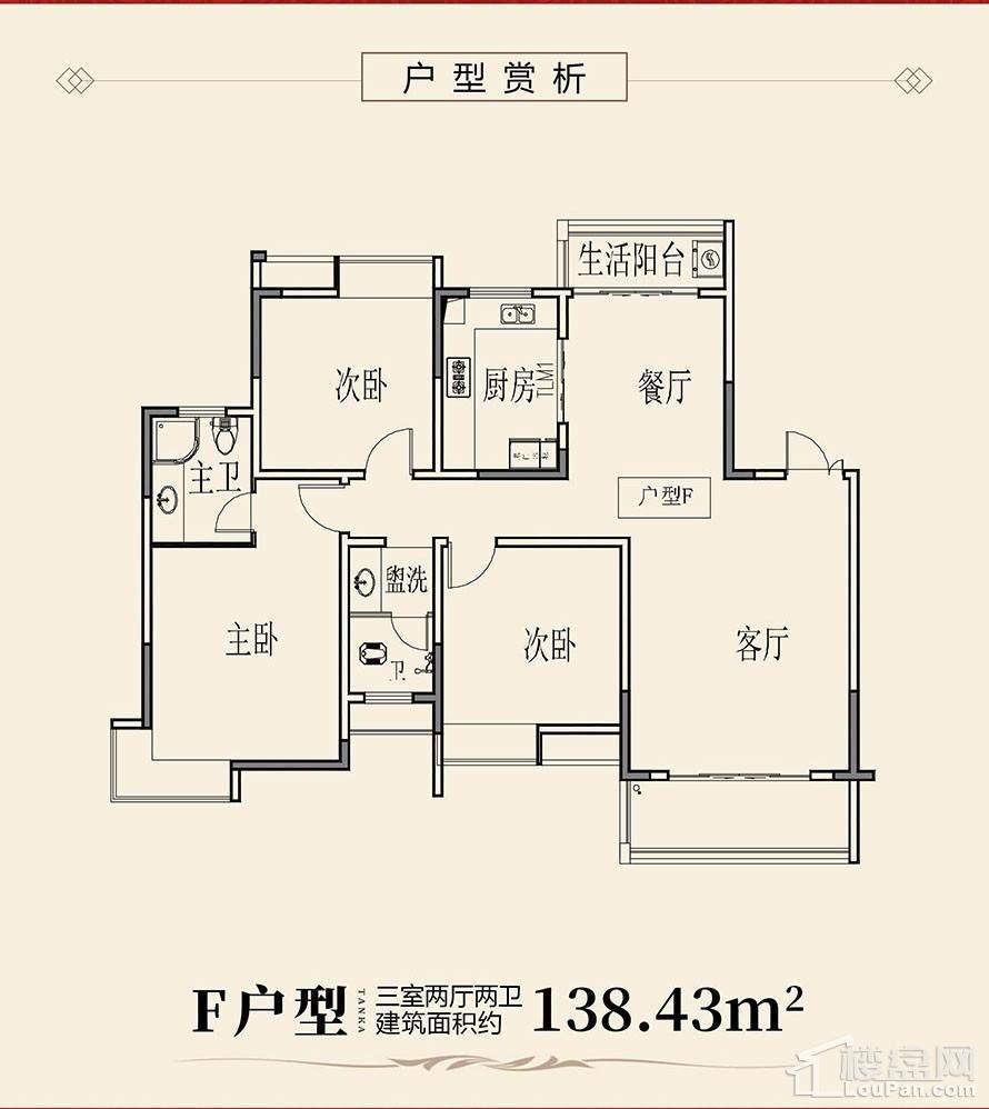 天凯荣昌府F户型