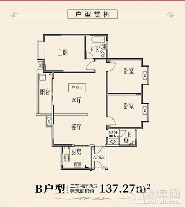 天凯荣昌府B户型