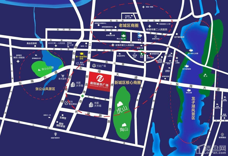 南翔城市广场区位图