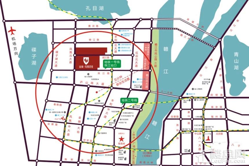 商城凤凰印象位置图