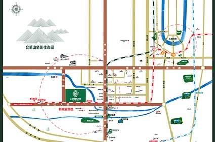 云星·钱隆悦府位置图
