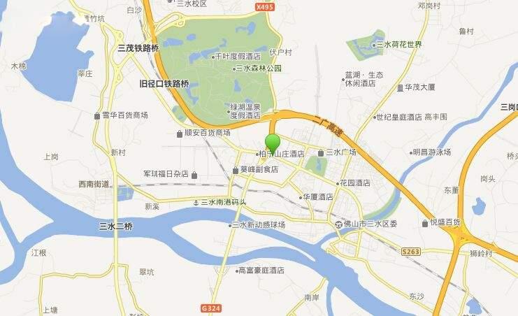 碧桂园三水华府位置图