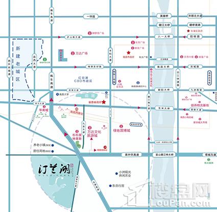 云南城投集团汀兰湖位置图