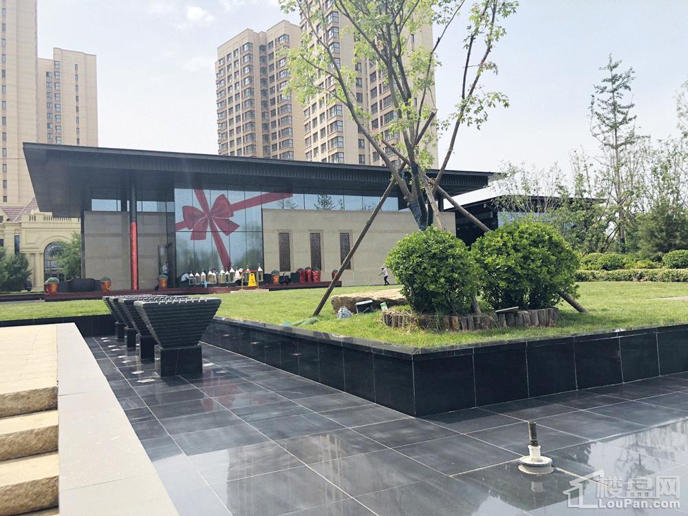 天津富力新城实景图