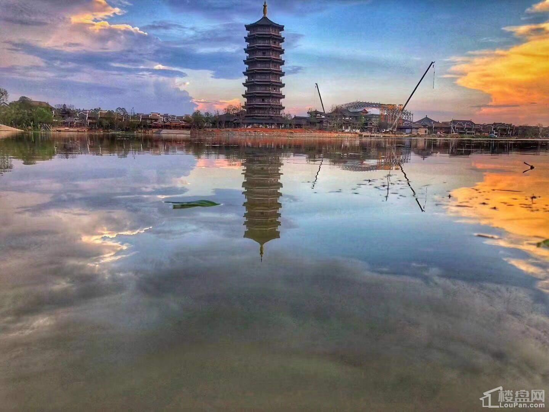 长沙铜官窑古镇实景图