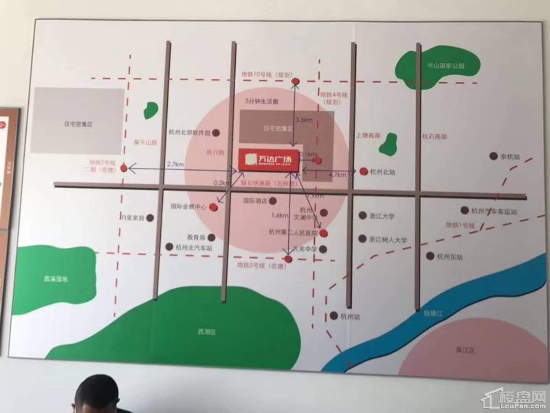 杭州拱墅万达广场效果图