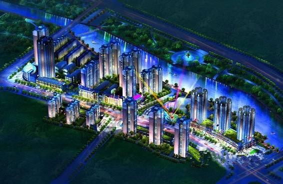海兴·水岸新城效果图