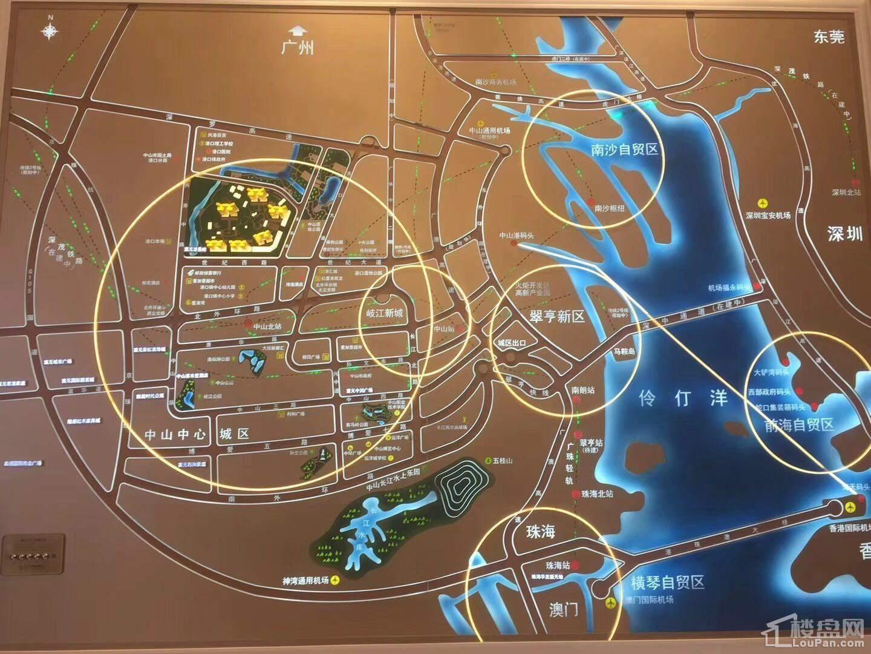 富元港景峰位置图