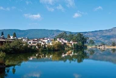 旅游地产山水湖畔高清图