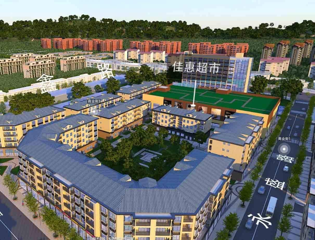低庄刘霖商业中心