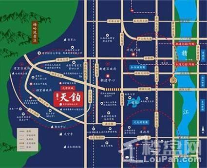 红星九湾天铂位置图
