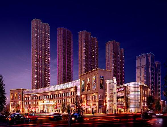 青城中央广场