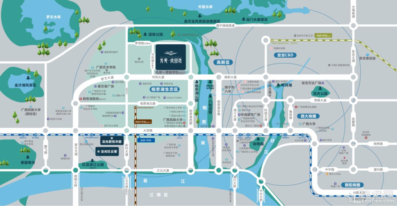 龙光玖誉湾位置图