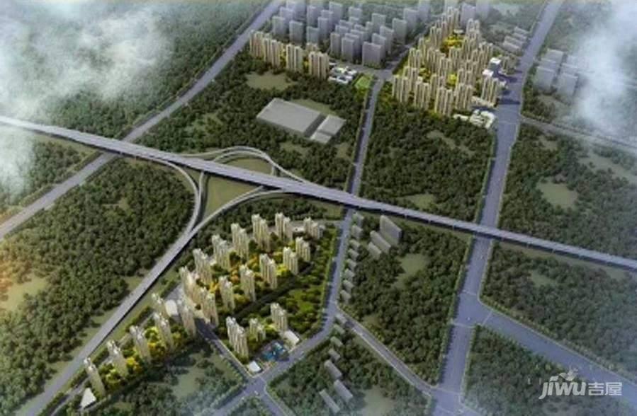 绿地新里城效果图