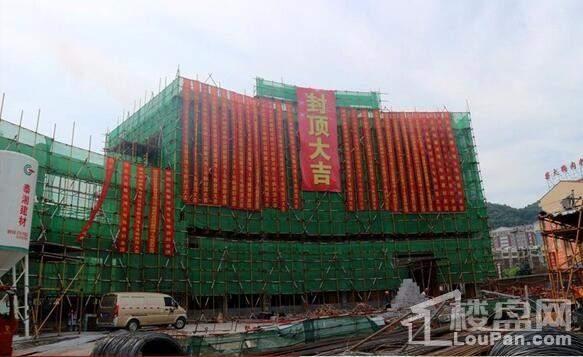 馨河湾5#栋工程实景