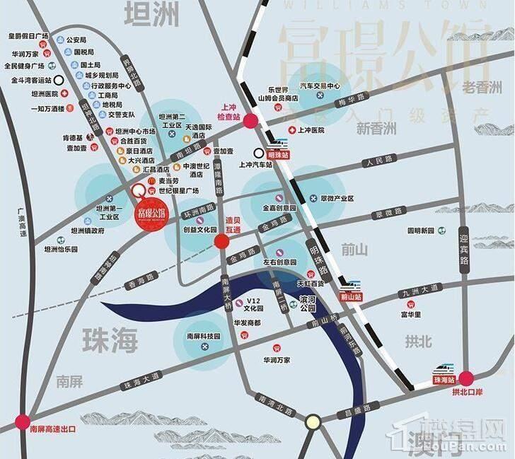 富璟公馆位置图