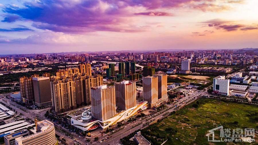 安吉万达广场航拍实景图