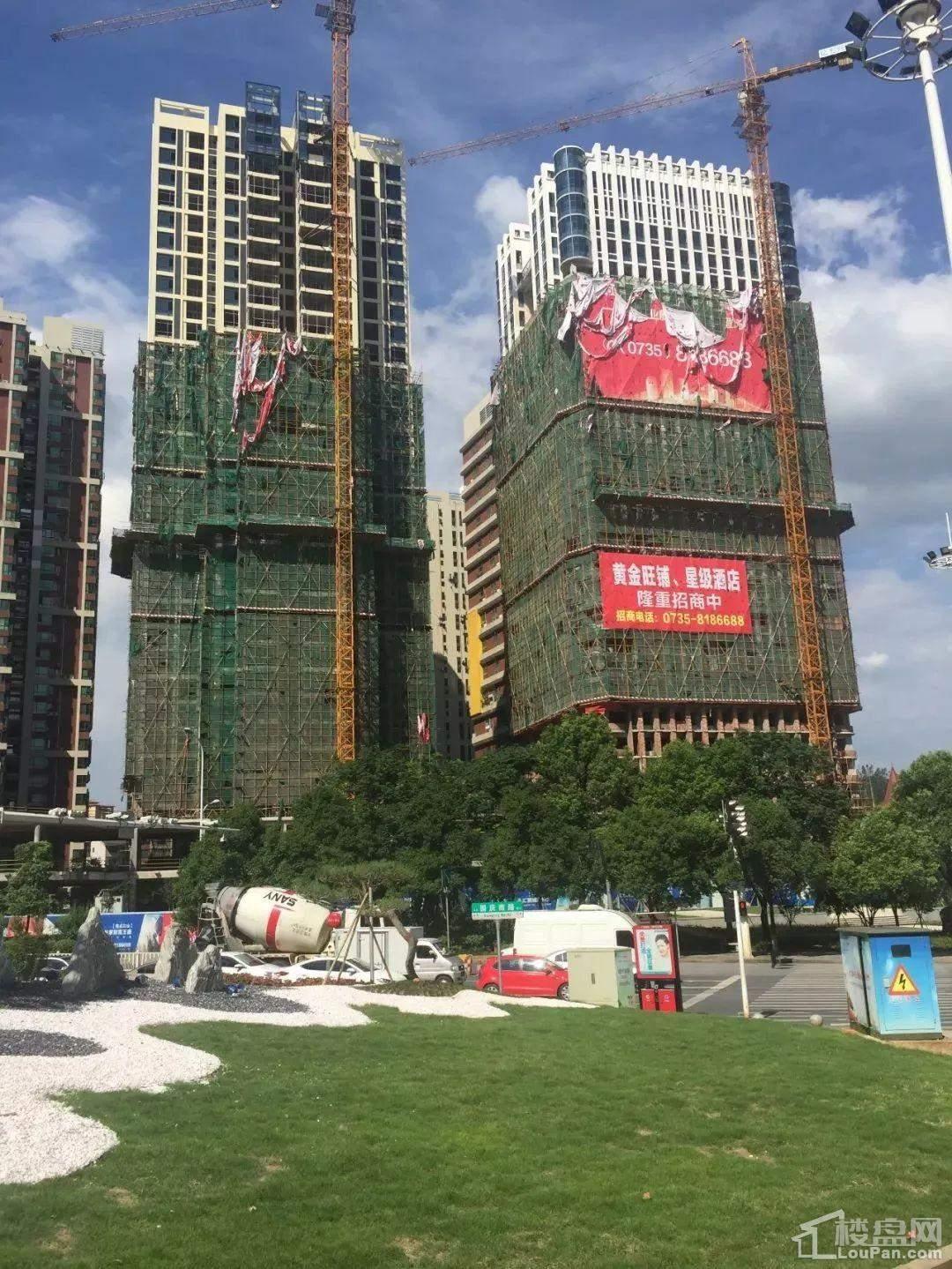 亿力国际广场7月工程实景