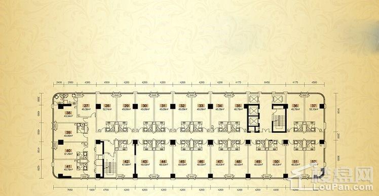 2号栋公寓平层图
