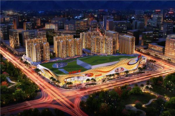 桂林高新万达广场效果图