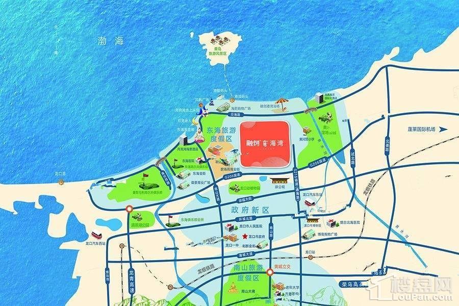 融创东海湾位置图