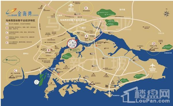 碧桂园金海湾位置图