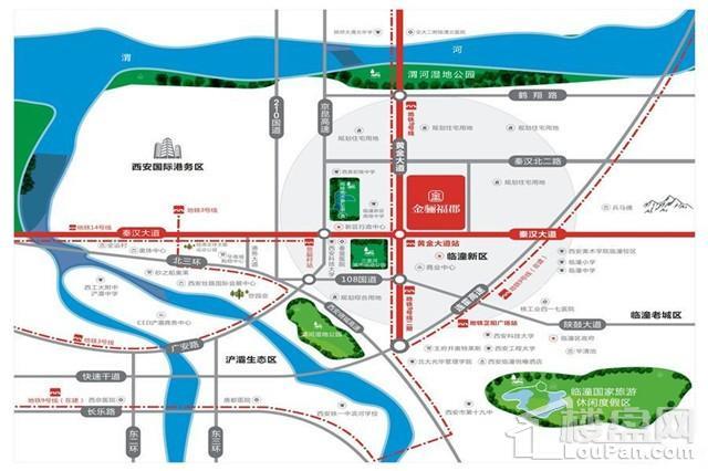 中金·金骊福郡位置图