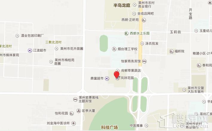 凤祥花园位置图
