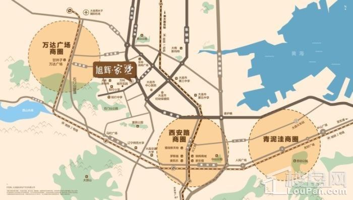 旭辉家墅位置图
