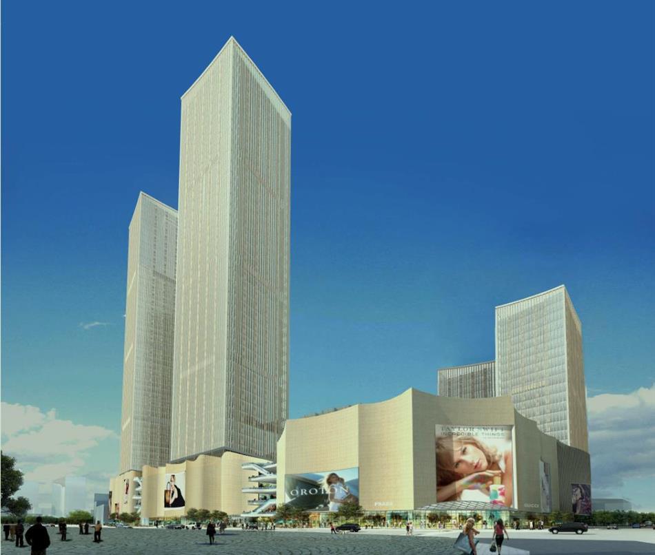友阿国际商业广场效果图