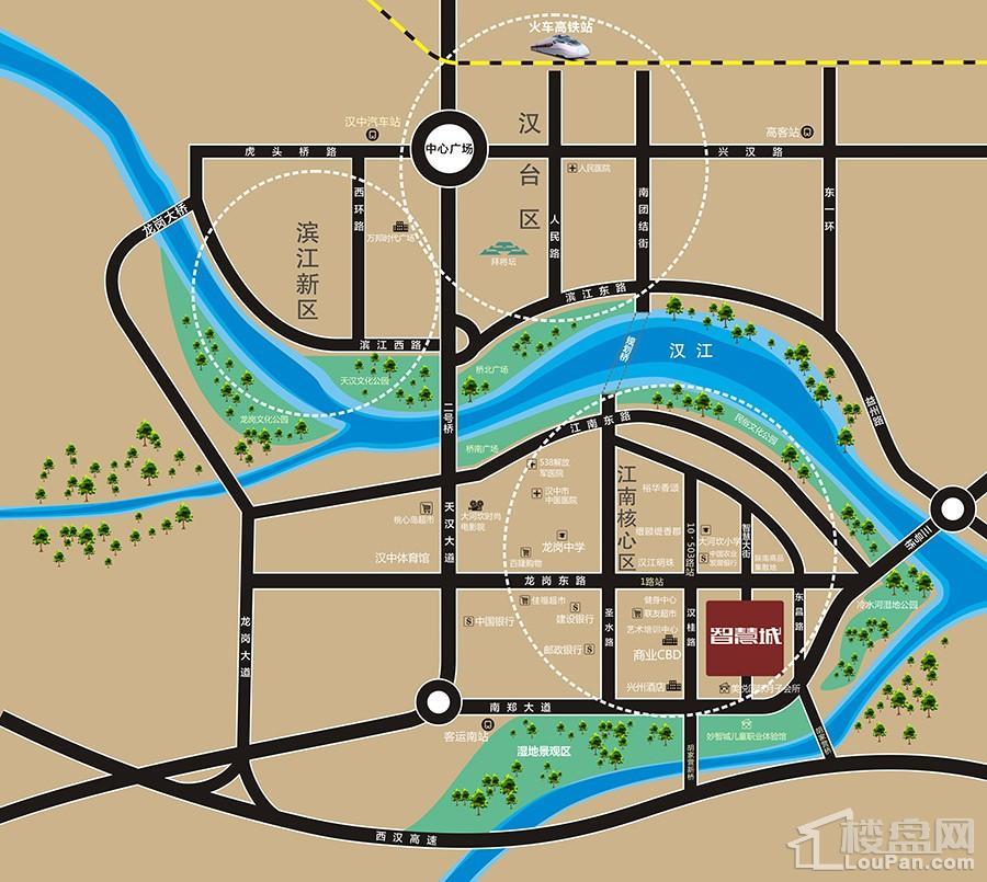 智慧城位置图