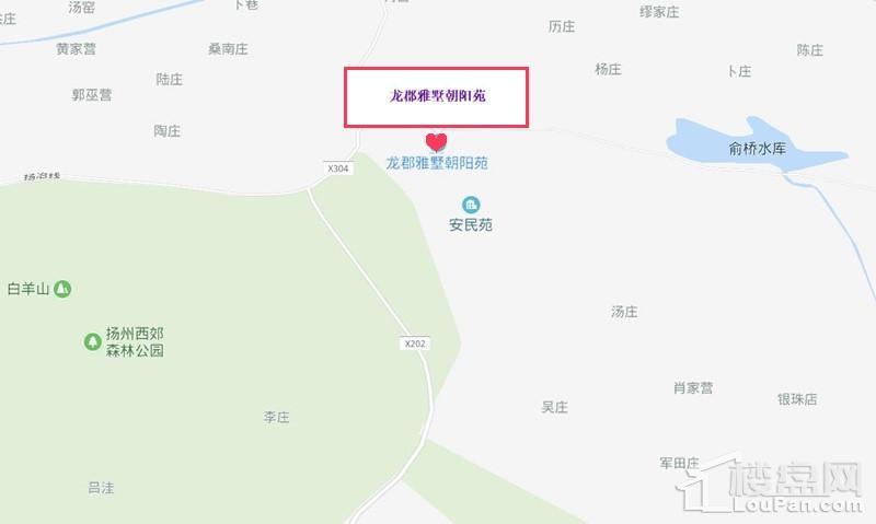 龙郡朝阳苑位置图