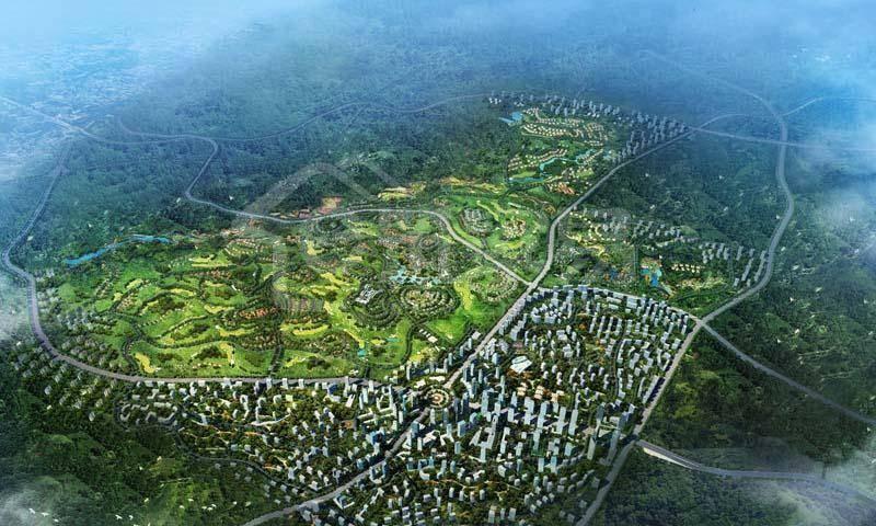 中铁国际生态城·白晶谷