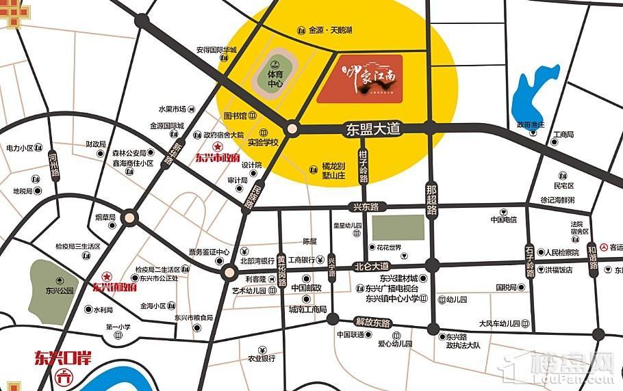 中旭·印象江南位置图