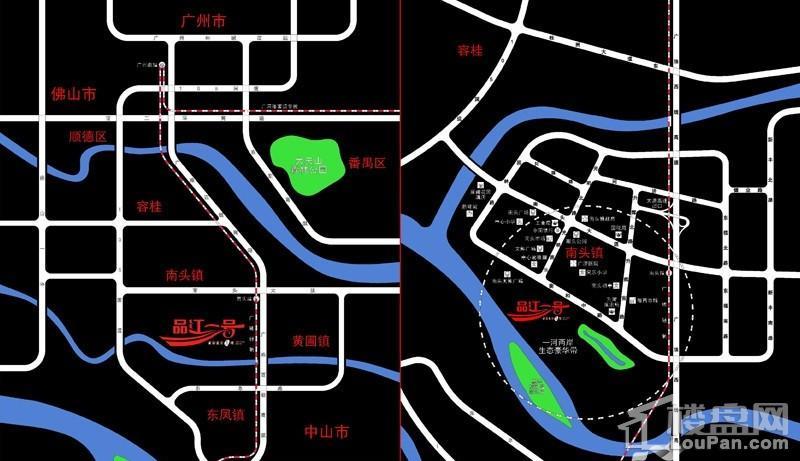 品江一号位置图