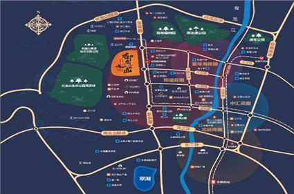 碧桂园御龙半山位置图