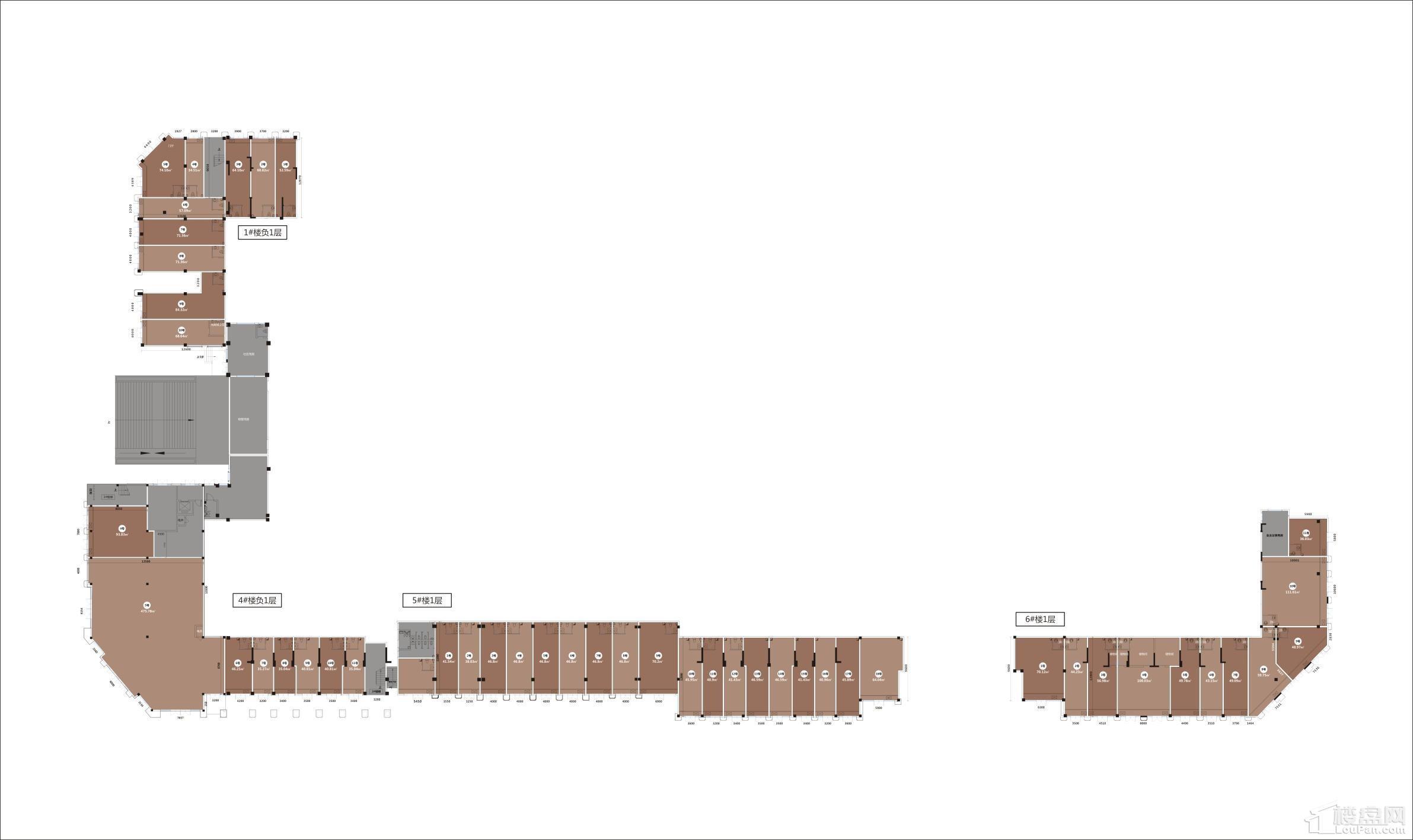 凯越东湖一号商业平面图