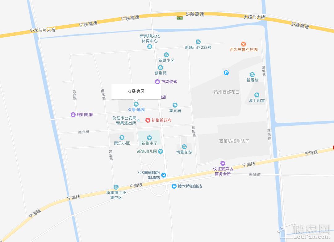 久景逸园位置图