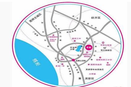 中豪·优活城位置图