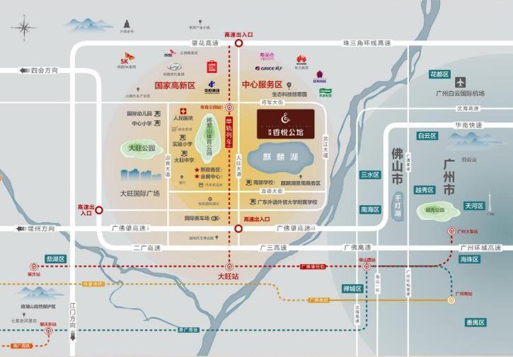 新城香悦公馆位置图