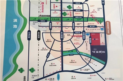 泛亚城邦位置图