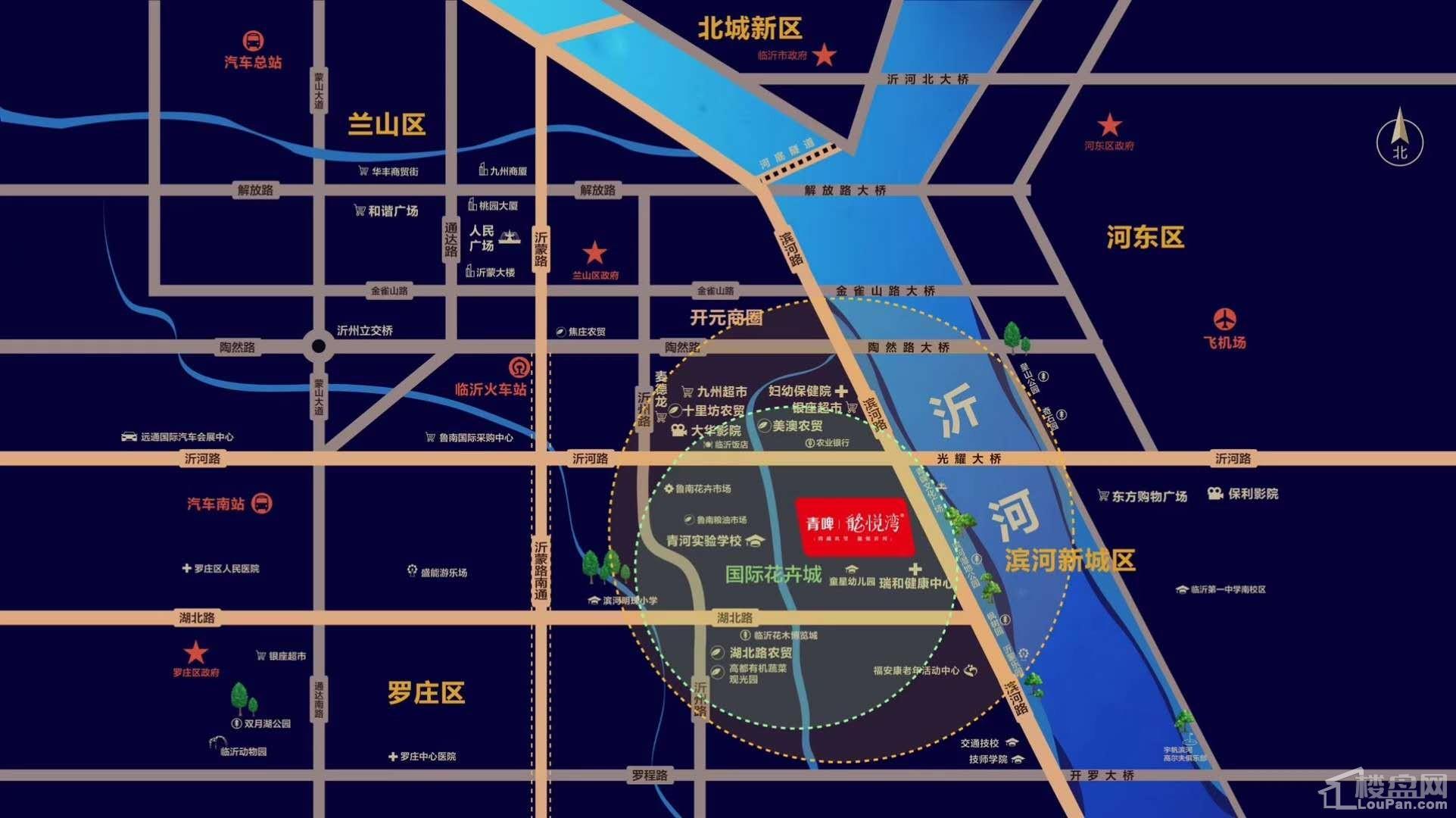 青啤龍悦湾位置图